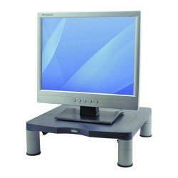 Soporte para monitor estándar fellowes 9169301 grafito - altura regulable 50-100mm - soporta hasta 27kg