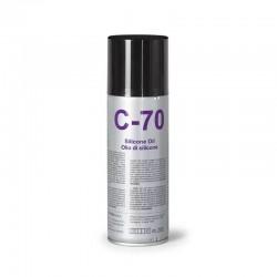 Aceite de silicona fonestar c-70 - 200ml - aplicable en todo tipo de superficies