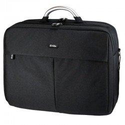 Maletín e-vitta business plus negro - para portátiles hasta 15.4'-16'/ 39.1-40.6 cm - asa de aluminio - bolsillo frontal -