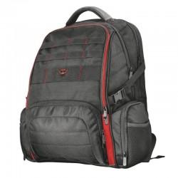 Mochila trust gaming gxt 1250 hunter gaming backpack para portátil de hasta 17.3'/43.95cm - 2 bolsillos laterales - funda