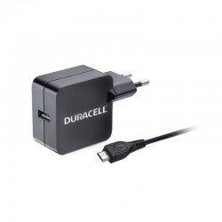 Cargador de pared duracell dmac10-eu - 1xusb - 5v - 2.4a - cable micro usb