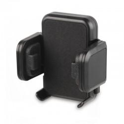 Soporte universal muvit para coche - sujeción pinzas salida de aire - hasta 105mm amplitud