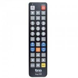 Mando a distancia tmurc502 compatible con tv samsung/lg/philips/sony/panasonic - teclas muy grandes - no precisa programación