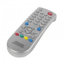 Mando a distancia universal 2 en 1 vivanco 19696 -tv y dvb - compatible con la mayoría de marcas - control de sonido