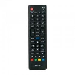 Mando a distancia ctvlg03 compatible con tv lg - no precisa programación