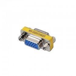 Adaptador vga aisens a114-0082 - conectores hdb15 hembra en ambos extremos