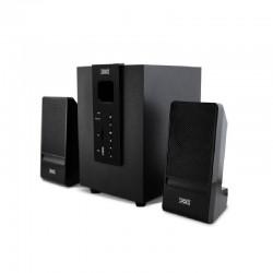 Altavoces 2.1 3go y650 - 20w rms (satelites 2*5w + subwoofer 10w) - bt 4.1 - salida 3.5mm - usb 2.0 -  radio fm - mando a