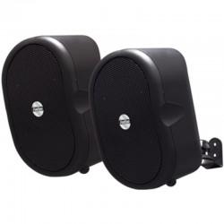 Altavoces 2.0 fonestar ambient-20 - hifi - 20w rms / 40w max - 132-20000hz - para anclaje en pared - negro