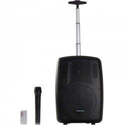 Altavoz trolley fonestar amply-t - 100w - bt - fm - usb/microsd - bass reflex - micrófono inalámbrico - bat. 2000mah