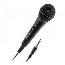 Micrófono ngs singer fire - dinámico - 80hz-12000hz - botón on/off - jack 3.5mm