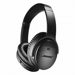 Auriculares bluetooth bose quietcomfort 35 ii black - ecualizacion optimizada - cancelación de ruido - micrófono doble - bat.