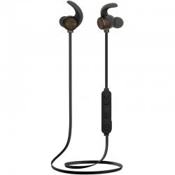 Auriculares deportivos bluetooth fonestar active-n negros - drivers 10mm - bt 4.2 -20-20000hz - 94db - control volumen - cable