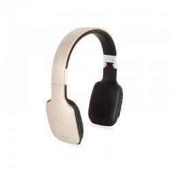 Auriculares bluetooth fonestar slim-d dorado - bt 4.2 - drivers 40mm - batería recargable - jack 3.5 para uso con cable