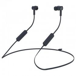 Auriculares intrauditivos bluetooth hiditec aken grey - drivers 10mm - ipx5 - batería 150mah - función manos libres