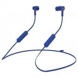 Auriculares intrauditivos bluetooth hiditec aken blue - drivers 10mm - ipx5 - batería 150mah - función manos libres