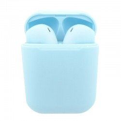 Auriculares bluetooth innjoo go v4 blue - bt 5.1 tws - batería auricular 30mah - estuche de carga 400mah - conector lightning