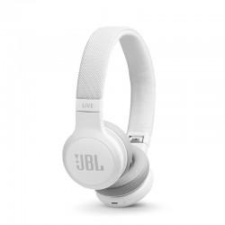 Auriculares bluetooth jbl live 400bt white - 32 ohm - tecnología talkthru - compatible google/amazon alexa - batería recargable