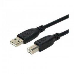 Cable usb 2.0 a-b 3go c113 - 5m - color negro