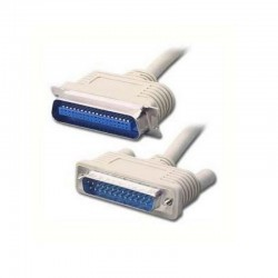 Cable impresora lpt1 3go c301 - paralelo / bidireccional - db25 macho a c36 macho - 1.8m