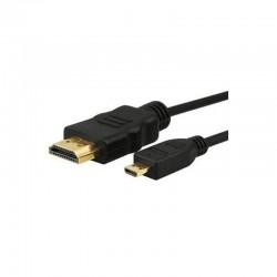 Cable hdmi macho a micro hdmi (tipo d) macho 3go cmhdmi - 1.8m
