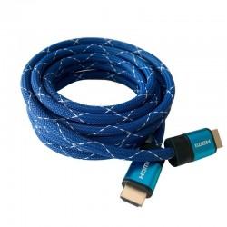Cable hdmi 3go chdmi320 - conectores hdmi macho/macho - v2.1 - soporta resoluciones 4k a 60fps - 3 metros