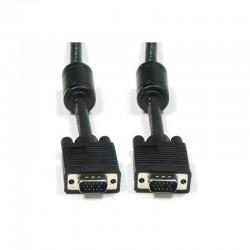 Cable vga macho macho 3go cvga5mm - 5 m - 1080p - color negro