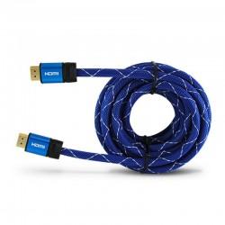 Cable hdmi 3go chdmi52 - conectores a macho / a macho - v2.0 - soporta resoluciones 4k a 60fps - 5 metros