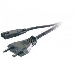 Cable de alimentación vivanco 46095 - conector euro-tipo 8 - 1.25m