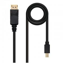 Cable mini displayport a displayport nanocable 10.15.2403 - mini displayport/macho - displayport/macho - 3m - negro