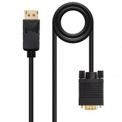 Cable displayport a vga nanocable 10.15.4402 - displayport/macho - vga/macho - 2 m - negro