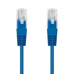 Latiguillo de red nanocable 10.20.0100-bl - rj45 - utp - cat5e - 0.5m - azul
