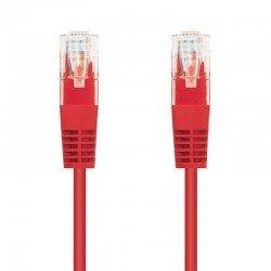Latiguillo de red nanocable 10.20.0101-r - rj45 - utp - cat5e - 1m - rojo
