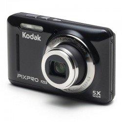 Cámara digital kodak pixpro fz53 negra - 16mpx - lcd 2.7'/6.82cm - zoom 5x opt - angular 28mm - vídeo hd 720p - usb 2.0 -