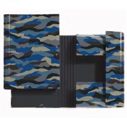 Carpeta solapas miquel rius 14663 hard rocks mr - a4 - carton forrado de papel impreso y plastificado mate