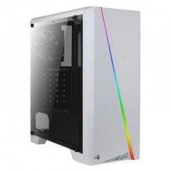 Caja semitorre atx/mini-itx aerocool cylonw - led rgb - int 2x3.5/2x2.5 - 1xusb 3.0/2xusb 2.0 + hd audio/mic + lector
