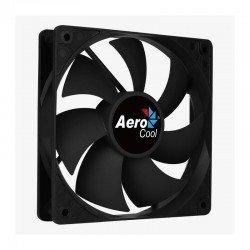 Ventilador aerocool forcé 8 black - 8cm -aspas curvadas - molex/3 pin