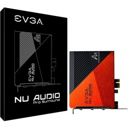 Tarjeta de sonido evga nu 712-p1-an10-kr - sonido 5.1 envolvente- entrada micrófono 3.5mm - salida audio 3.5mm