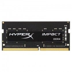 Memoria kingston hyperx impact hx424s14ib2/8 - 8gb - ddr4-2400 - cl14 - 260 pines - 1.2v - sodimm