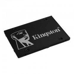 Disco sólido kingston skc600 1tb - sata iii - 2.5'/6.35cm - lectura 550mb/s - escritura 520mb/s - autocifrado basado en hardware
