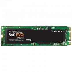 Disco sólido samsung ssd 860 evo 500gb - m.2 2280 - sata iii - lectura 550 mb/s - escritura 520 mb/s
