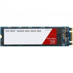 Disco sólido western digital red sa500 nas - 1tb - sata iii - m.2 2280 - lectura 560mb/s - escritura 530mb/s - especial nas