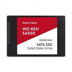 Disco sólido western digital red sa500 nas wds500g1r0a - 500gb - sata iii - 2.5' / 6.35cm - 7mm - lectura 560mb/s - escritura