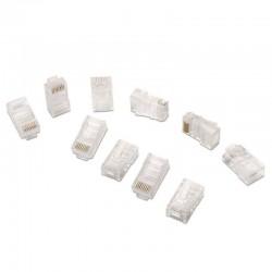 Bolsa 10 conectores rj45 aisens a138-0290 - 8 hilos - cat.5e - awg24