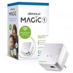 Plc/powerline devolo magic 1 wifi mini - 1200mbps (plc)/300mbps (wifi) - rj45 - conexión en red mesh