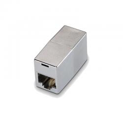 Adaptador rj45 hembra a rj45 hembra nanocable 10.21.0503 - cat.6 stp - para panel de parcheo o roseta