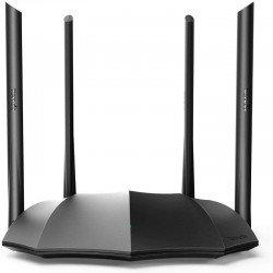 Router inalámbrico tenda ac8 - doble banda 5/2.4ghz - 1*wan 10/100/1000mbps - 3*lan 10/100/1000mbps  - 4*6dbi antenas externas