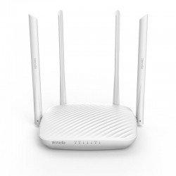 Router inalámbrico tenda f9 - 802.11b/g/n - 600mbps - 2.4ghz - 1*wan - 3*lan - 4*6dbi antenas - botón wps