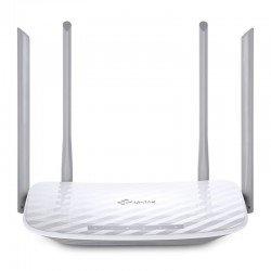 Router inalámbrico tp-link ac 1200 v3 - archer c50 - 867mbps - 4xlan 10/100 - 1x 10/100 - 4 antenas externas 5dbi - soporta