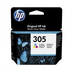 Cartucho de tinta color hp nº305 - 100 páginas aprox. - compatible según especificaciones