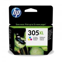 Cartucho de tinta color hp nº305xl - 200 páginas aprox. - compatible según especificaciones